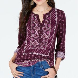 Style & Co 1X Purple Top NEW L2-F8-01